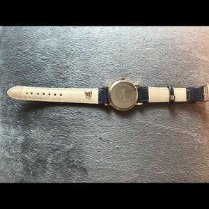 Jewelry - Navy Preppy Nautical Anchor Watch